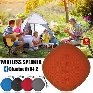 Image 2 - Lenyes Bluetooth スピーカーため S801 クリエイティブポータブルスピーカーミニ屋外ワイヤレスヤシ音響防水キャンプ