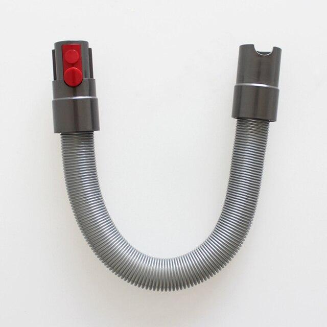 1. 다이슨 v7 v8 v10 무선 진공 청소기 교체 부품 유연한 튜브 용 고품질 텔레스코픽 연장 호스