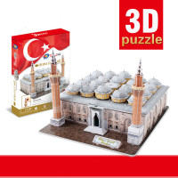 New Composites Happy Cube 3D Puzzles Turkey Boer SA Mosque DIY Building Model Intelligence Development Children's Toys Gifts