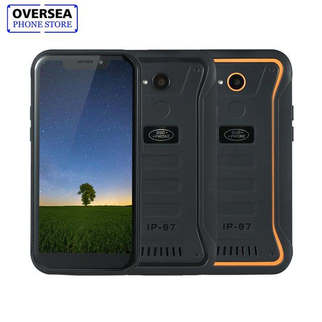 "Guophone X3 5.5""5000MAH MTK6739 Quad Core 2GB Memory 16GB ROM Android 8.1 GPS 8MP 3G WCDMA LTE Waterproof Roaming X3 Smartphone"