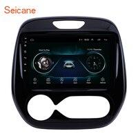Seicane 2 din gps 9 дюймов сенсорный экран автомобильный мультимедийный плеер для Renault Captur CLIO samsung QM3 руководство/C 2011 2016