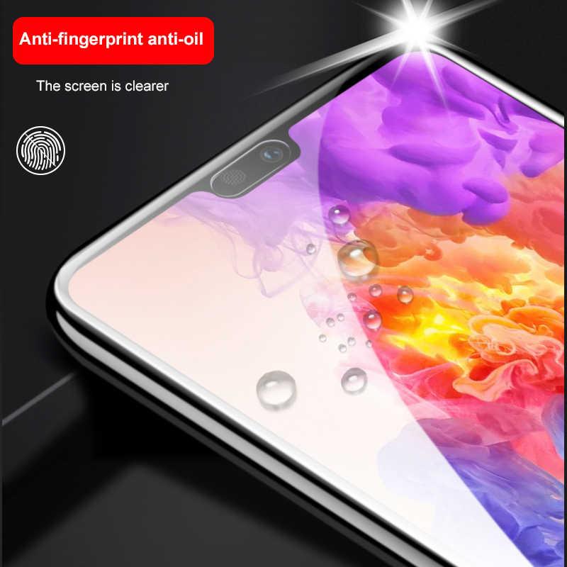 Kaca pelindung Untuk Huawei P30 Lite Armor Huawei P 20 Pro Smart Plus 9 Pelindung Layar Psmart Lampu Huawai screensaver Case