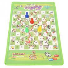 Змеиная лестница, Обучающие Детские игрушки, интересный набор настольной игры, портативная Летающая шахматная доска, семейные вечерние игры, подарки