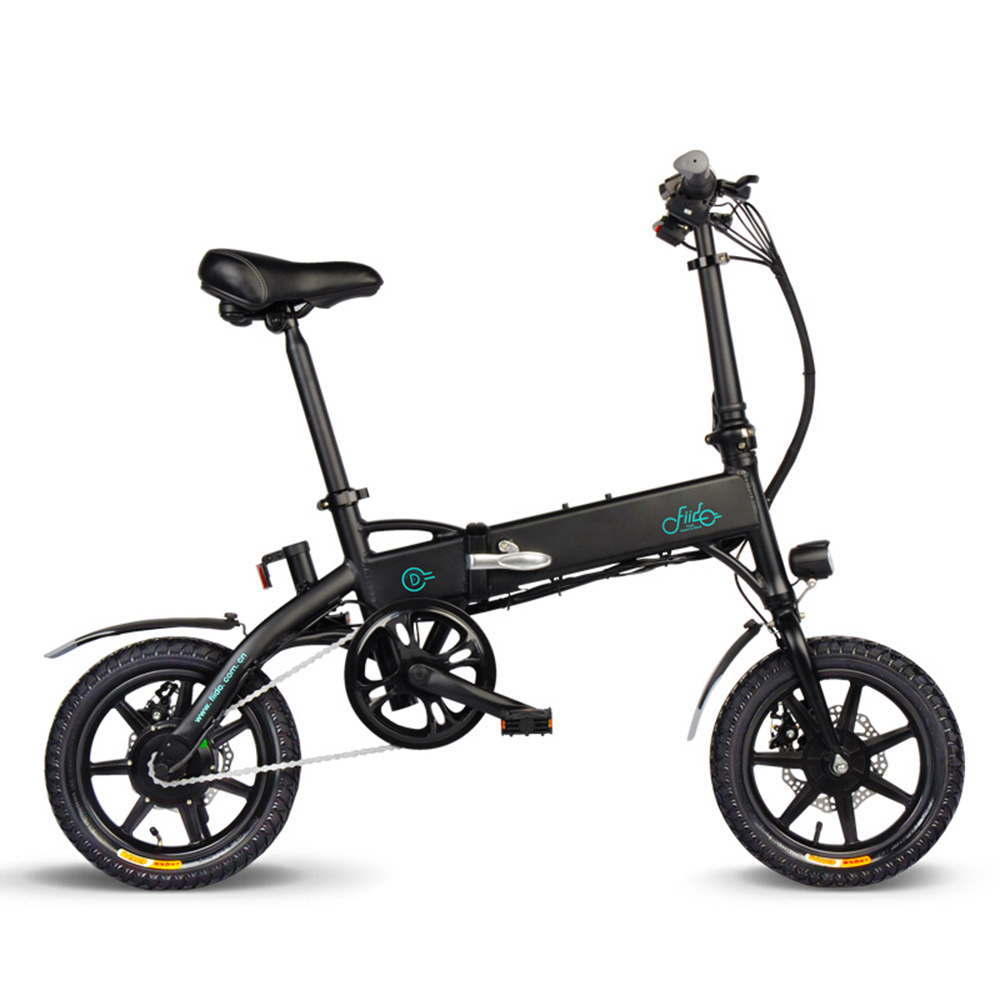 Folding Electric Bicycle Power Assist Electric Bike For Adults Moped E-Bike 250W Brushless Motor 14 Inch 36V 7.8AH 10.4AH