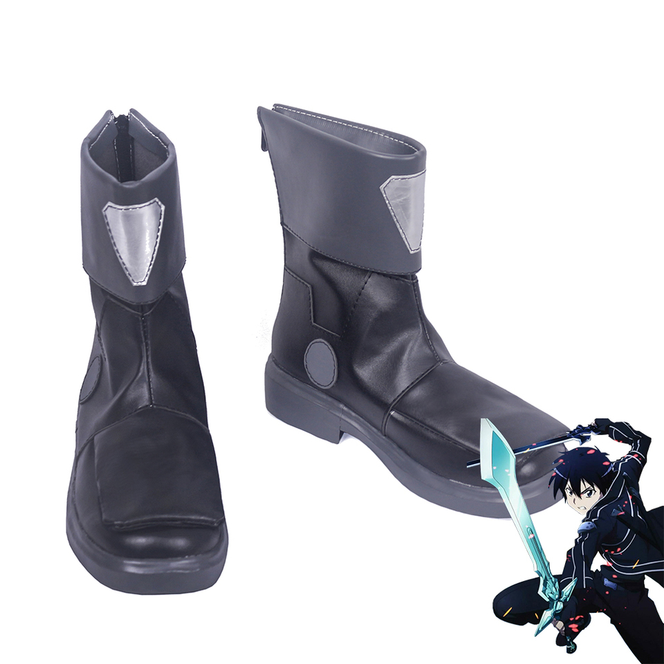 Fatal Bullet Men Cosplay Shoes Boots