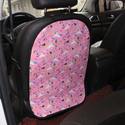 Anti Stepped Dirty Car Seat Back Cover Protector Kick Clean Mat Pad for Kids TOP