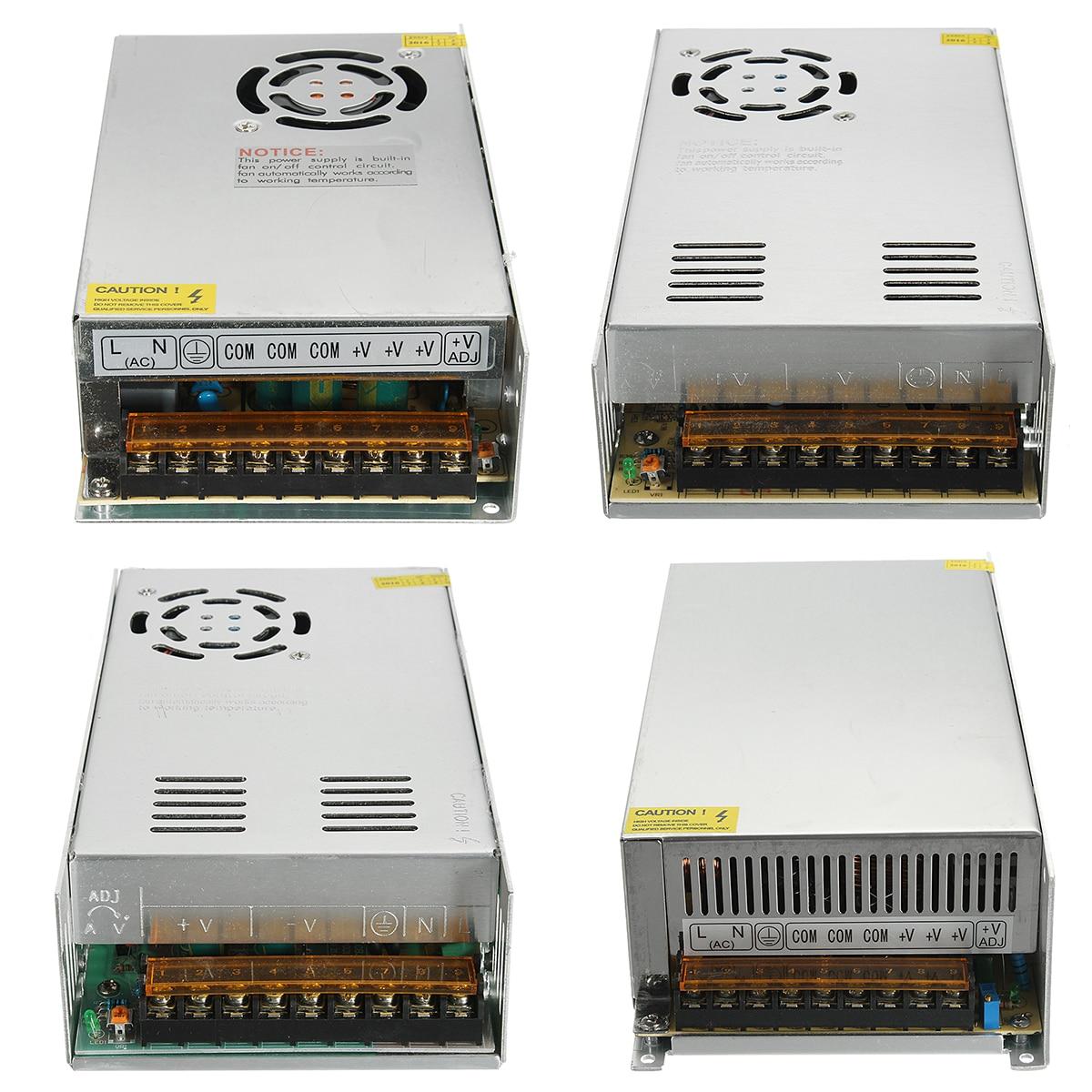 AC 110V-220V to DC 12V 20A/30A/40A/50A Switch Power Supply Adapter Strip Light hlq25 75s 100s 125s 150s 10a 20a 30a 40a 50a 10b 20b 30b 40b 50b airtac sliding table cylinder