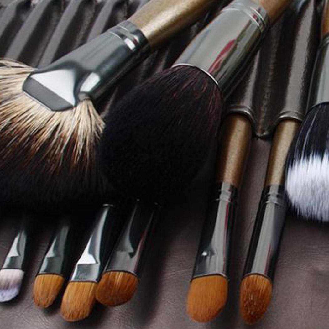 HG SERIES пудра/румяна повторяющиеся тени/креза для глаз/консилер/угловой вкладыш/Smudge/выдвижные кисти для макияжа Кабуки набор - 4