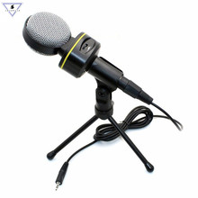 SF-930 Professional Condenser Microphone Stereo Wired 3.5mm Studio Speech With Stand For Video Sound Record Museum Documentary sf 922b usb condenser sound microphone