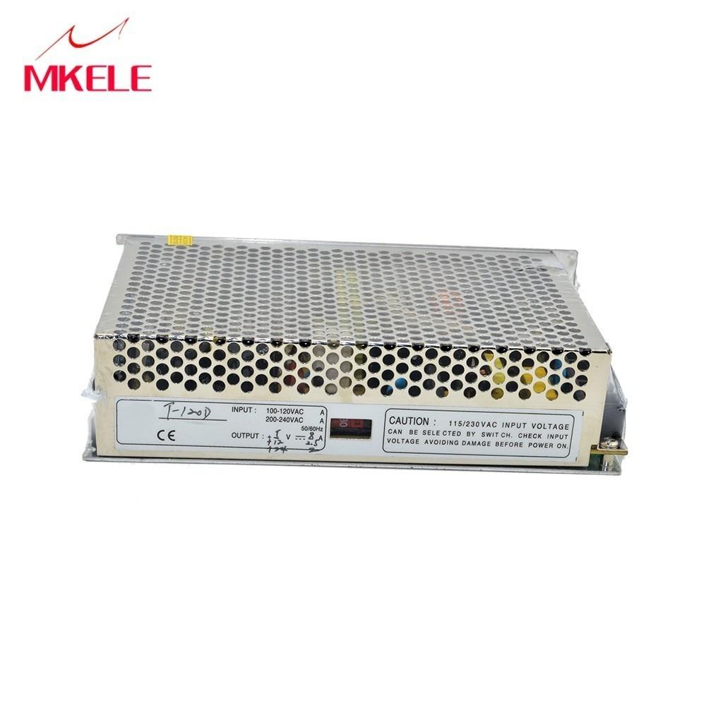 hot selling T-120B 5v 12v 24v triple output switching power supply for led strip light 120w