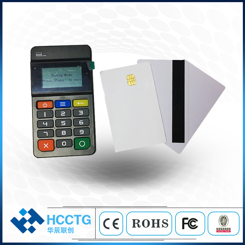 Keypad Mobile Pos Payment Terminal Magnetic With Bluetooth/nfc Reader /ic Chip Card Reader --hty711 100% Guarantee