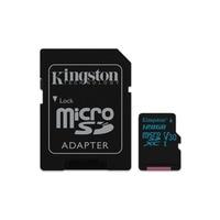 Kingston Technology Canvas Go!, 128 Gb, Microsdxc, Class 10, Uhs i, 90 Mb/s, Black