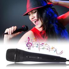 Новый USB проводной микрофон 3 м/9,8 футов геймпады использовать микрофон Высокая производительность караоке микрофон для Nintendo переключатель PS4 Wii U XBOX360 PC