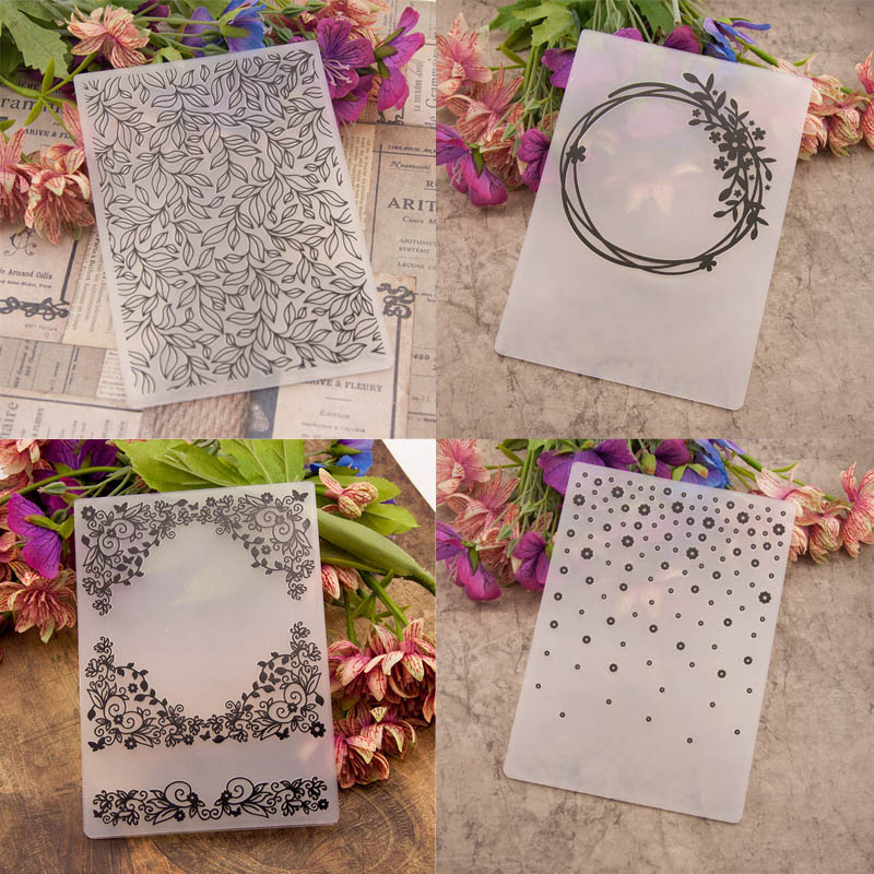 Autone Flowers Clear Stamps for Cards Making Silicone Stamps for DIY Scrapbooking Album Paper Cards Making Decoration