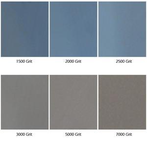Image 2 - BHTS Grit 1500 2000 2500 3000 5000 7000 عالية الدقة تلميع الرملي الرطب/الجاف ورق سنفرة كاشط ورقة ألمانيا ، حزمة من