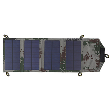 7W Certified Sun Power Panel Foldable Solar Charger Handy Source for Cell Phone Tablet PC Bank