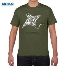GILDAN men short sleeve t shirt Manta Ray Divers T-SHIRT Scuba Divinger Gear Equipment Club Funny Gift Birthday T Shirts