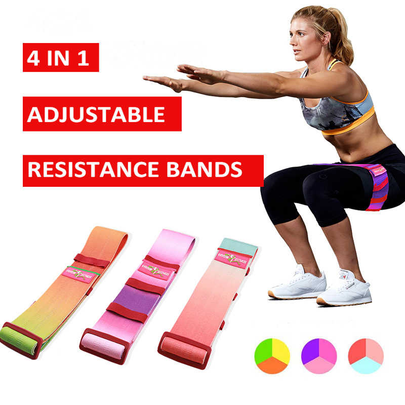 1x HIP Circle Glute Resistance Band Hip Rotation Exercise Strength Booty Band