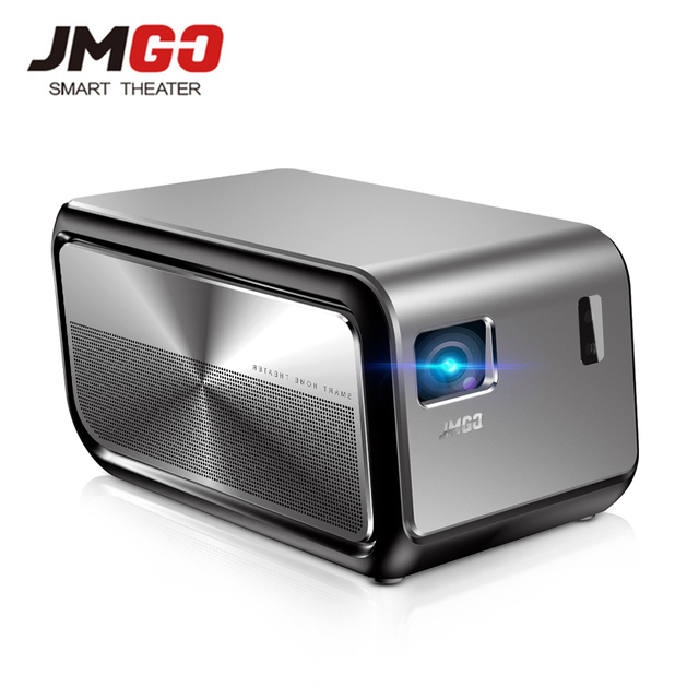 JMGO J6S Android DLP 1100 ANSI Lumen Projector 1080P Full HD Proyector Support 4K Video Wifi HDMI Bluetooth Portable TV Digital