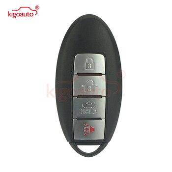 Kigoauto 4 Taste Smart Auto Remote key 433,92 Mhz Für Nissan Altima Maxima Murano 2017 2016 4A chip KR5S180144014