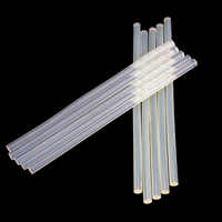 Free shipping (10PCS/Lot) Non-Toxic Transparent 11mm X200mm 7mmx200mm Hot Melt Glue Sticks for DIY