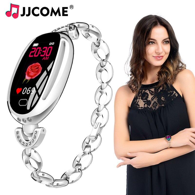 Bracelet intelligent femmes IP67 étanche pression artérielle moniteur de fréquence cardiaque bande intelligente Tracker de Fitness montre intelligente pour iPhone Android