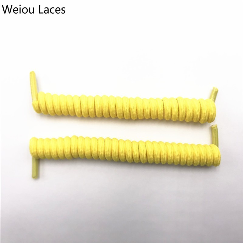 Weiou Spring Curly Stretch Shoelace Lazy No Tie Laces Round Elastic Coiled Shoestrings For Women Men Sneakers Adult Kids ShoesWeiou Spring Curly Stretch Shoelace Lazy No Tie Laces Round Elastic Coiled Shoestrings For Women Men Sneakers Adult Kids Shoes