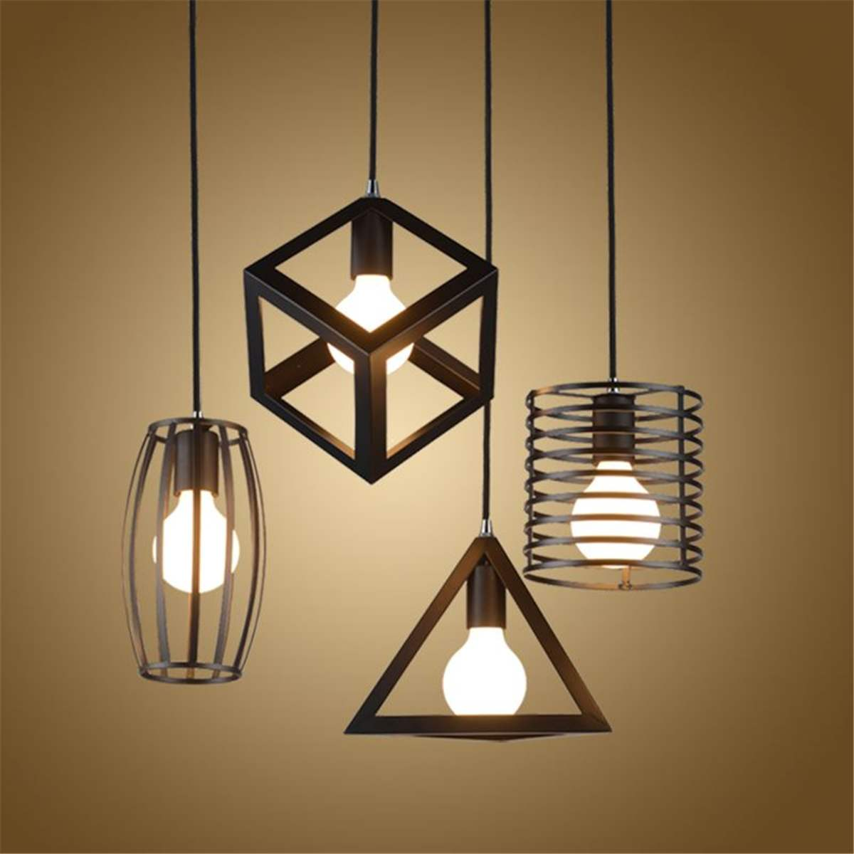 E27 Industrial Vintage Pendant Light Night Lamp Kitchen