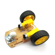 Умный автомобильный робот 2WD, корпус двигателя/Трассировка, автомобильный комплект, датчик скорости с аккумуляторной коробкой для Arduino, комплект Diy