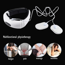 Neck Physiotherapy Massager Cervical Electromagnetic Shock Pulse Physical Therapy Instrument Multifunction