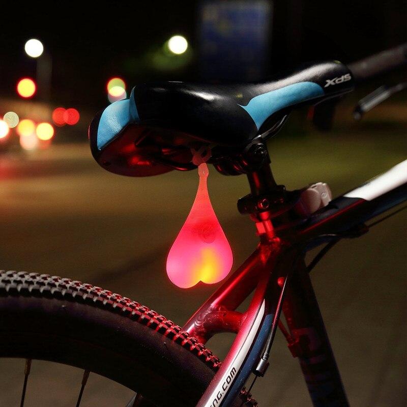 Motorrad Zubehör Warnung Licht Silikon Lampe Innen Design Auto Dekoration Wasserdichte Fahrrad Auto Eier Lampe Sicherheit Stick
