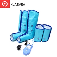 KLASVSA Air Compression Leg Foot Massager Wraps Regular Ankles Calf Physical Therapy Promote Blood Circulation Health Care Relax