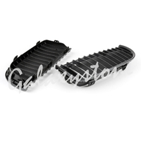 Carbon For E90 E91 Black Front Kidney Grill Grilles For BMW Saloon 2005 2006 2007 2008 4D