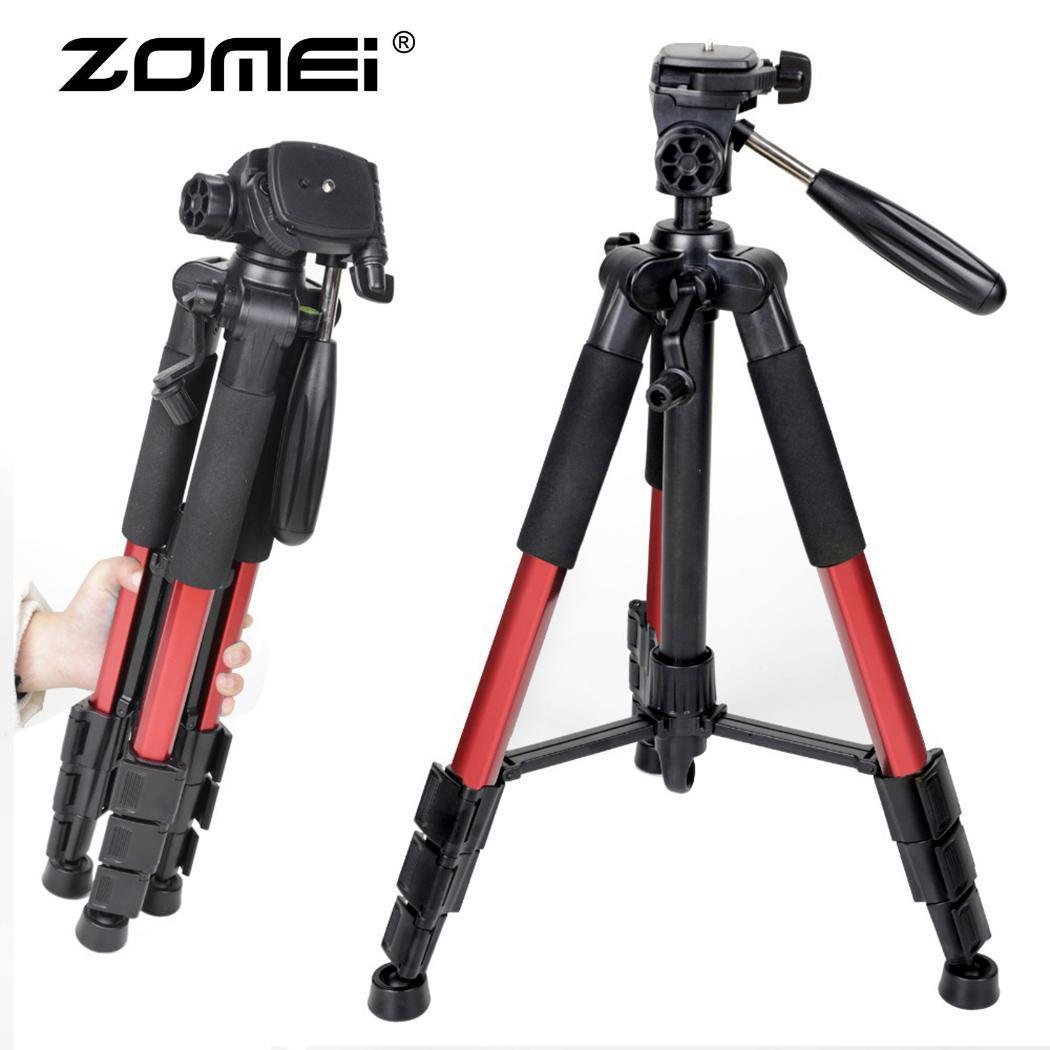 ZOMEI Q111 Professional Tripod Portable Flexible Travel Aluminum Camera Tripod&P