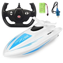High Speed RC Boat 2.4GHz 4 CH Dual-motor Racing Remote Cont