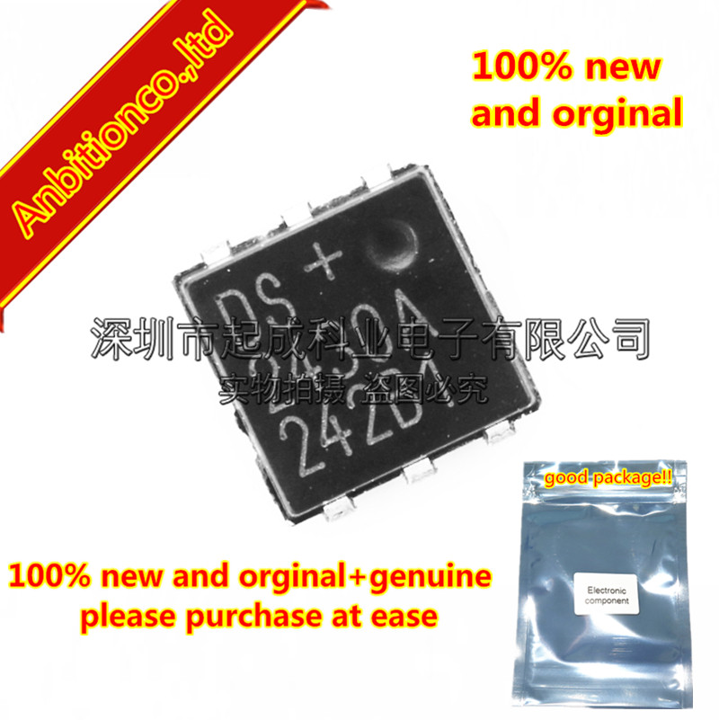 10pcs 100% new and orginal DS2430AP+T&R TSOC-6 silk-screen <font><b>DS2430A</b></font> DS2430AP in stock image