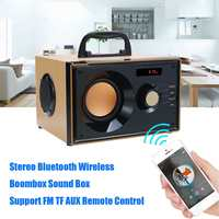 Stereo Bluetooth Speaker Subwoofer Heavy Bass Wireless Big Speakers Boombox Sound Box Support FM TF Home Theater Amplifiers