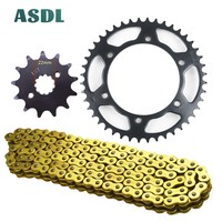 520H 13T 44T Motorcycle Best Transmission Drive Chain and front rear sprocket set for HONDA XL250 M N P2 DegreeMD26 XL 250 13 44