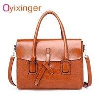 New Womens Briefcases Messenger Handbags Men Leather Business Travel Shoulder Bag Office Work Bags For Women Tote Bolsa Feminina