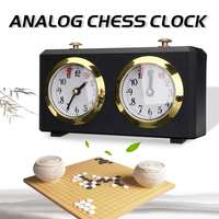 Professional LEAP DT05ah Analog Chess Clock For Chess/I GO Count Up Down Alarm Timer for Game Competition Metal