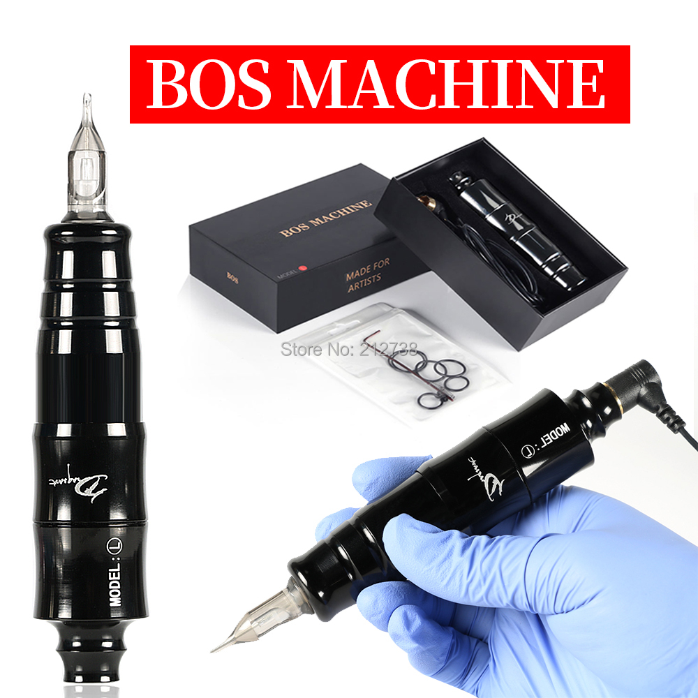 Professional Tattoo Machine Aluminum Alloy Rotary Pen Liner & Shader For Cartridge Needles Supply Body Eyebrow Art Tool Equipmen