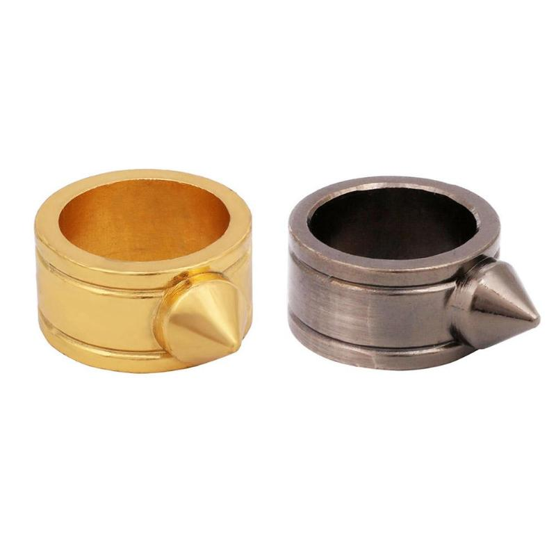 Ring Cool Protective-Equipment Self-Defense Outdoor Camping-Tool Zinc-Alloy Portable
