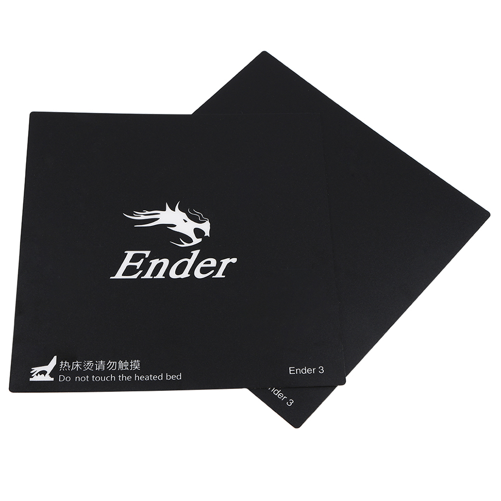 PPYY NEW -3D Printer Accessories 235x235mm Hot Bed Platform Sticker Adapted For Ender-2 Ender-3