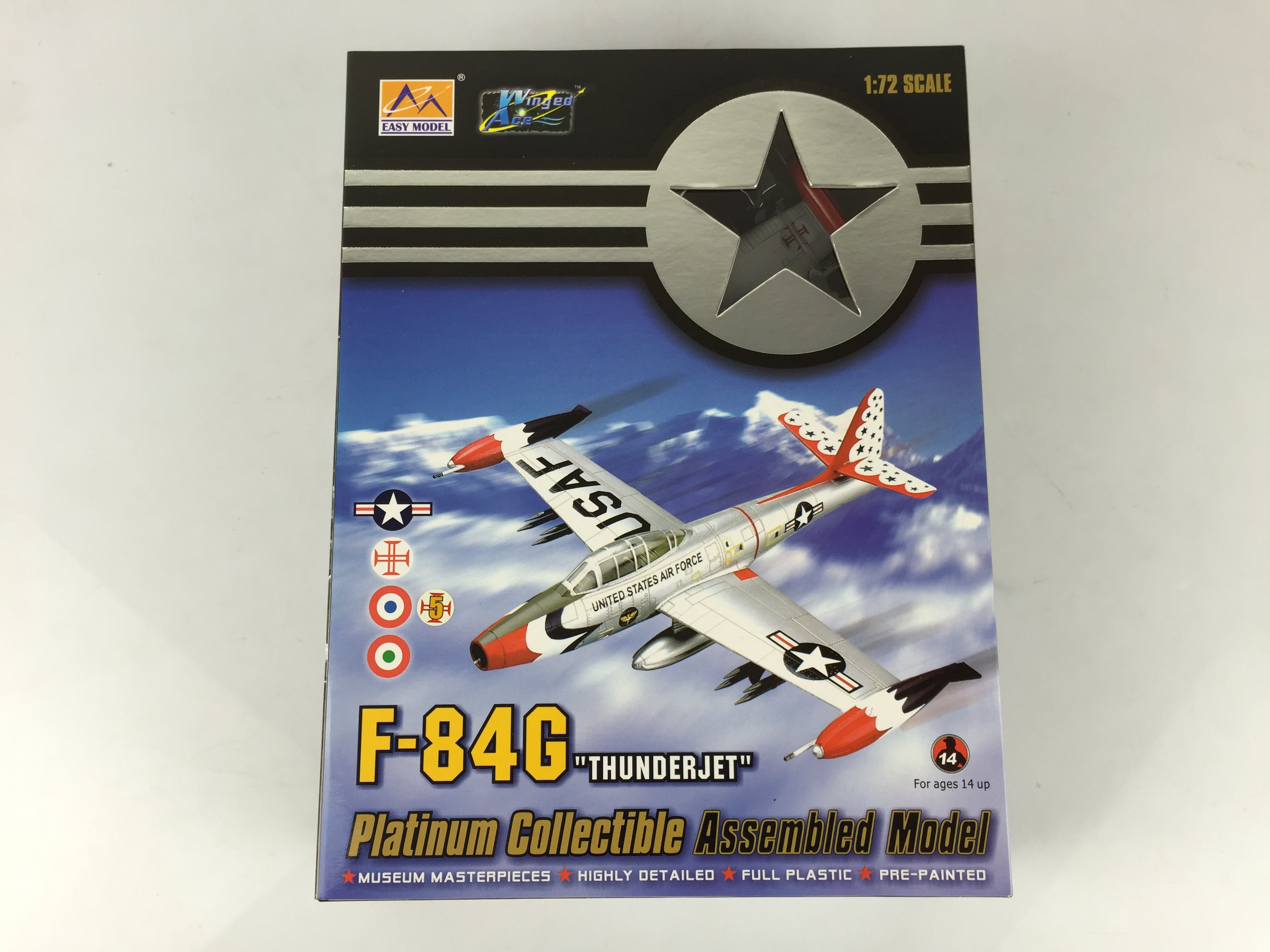 Easy Model 36804 1/72 Plane Portugal Air Force F-84G-10-RE Finished Aircraft