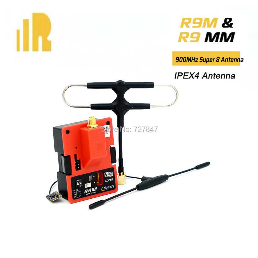 Frsky R9M модуль R9 мм 900 МГц мини приемник FrSky Супер 8 антенна с большим радиусом действия 4/19CH приемник телеметрии доска