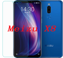 Smartphone 9h Tempered Glass  for Meizu X8 Explosion-proof Protective Film Screen Protector cover phone