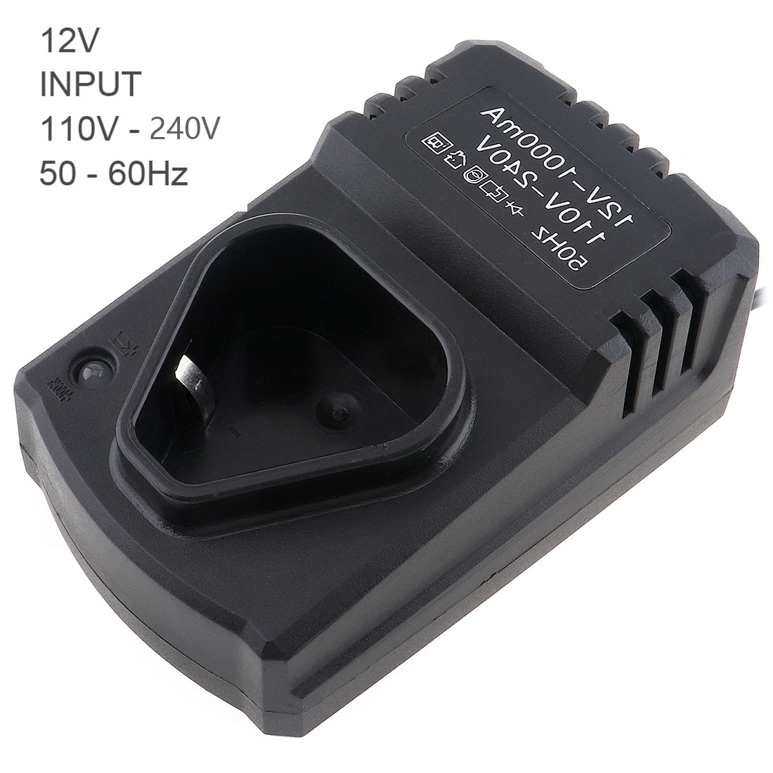 12V DC Portable Multifunction Li-ion Rechargeable Charger Support 110-220V Power Source For Lithium Drill / Electrical Wrench