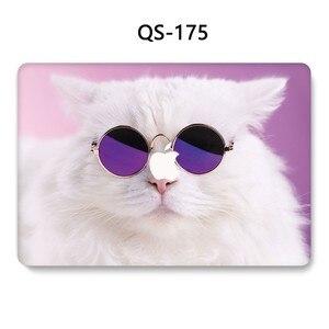 Image 3 - ل حقيبة لاب توب للمحمول ماك بوك 13.3 15.4 بوصة ل حالة ماك بوك اير برو الشبكية 11 12 مع واقي للشاشة لوحة المفاتيح كوف