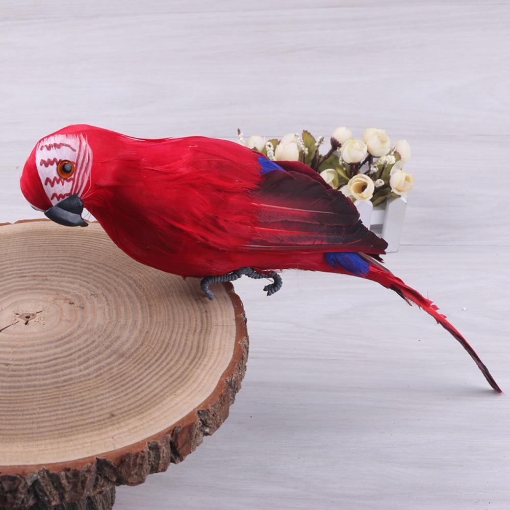 Käsitsi valmistatud dekoratiivne papagoi 25 sm 1