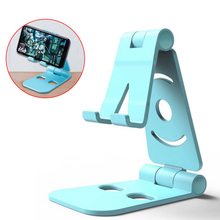 Mobile Phone Holder Universal Adjustable Plastic Phone Stand Lazy Folding Bracket Multi-Function Video Tablet Desk Phone Stand